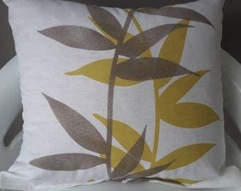 Zen decor pillow cover; 30 x 30 cm