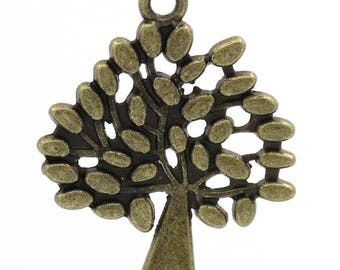 10 charms tree of life size 29mm x 24mm