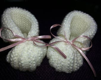 wool baby shoes