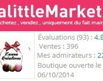 Reviews and sales on A Little Market