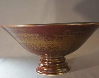 Large stoneware fruit bowl