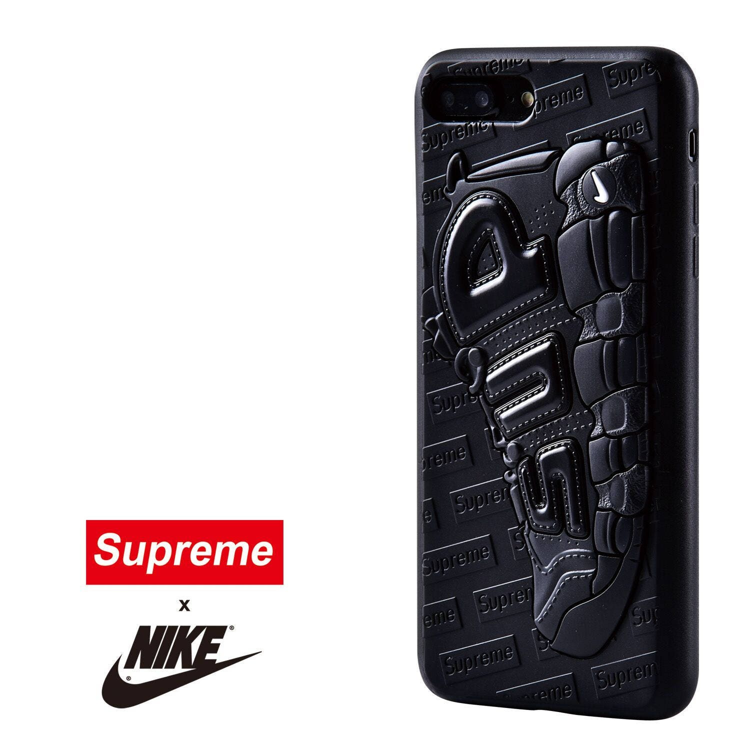 wholesale dealer 87d07 164f0 Supreme x Nike Uptempo 3D Textured iPhone Cases USA Stock iPhone 6 ...