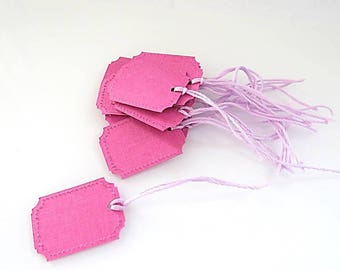 Pink 15 gift tags