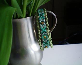 Green Friendship Bracelet