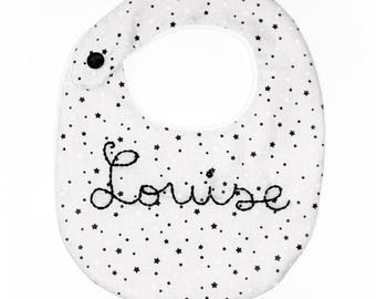 Bib birth 0/6 month ❀ Louise ❀