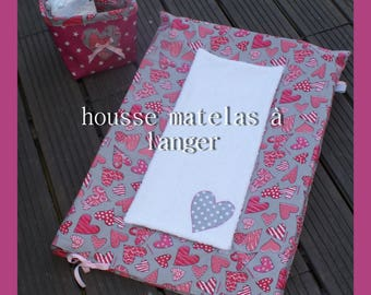"cover changing mat collection ""little heart"""