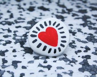 SHINING HEART Badge
