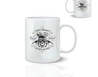 Road speed biker - ceramic mug mug 325 ml