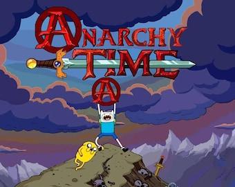 STICKER: Anarchy Time