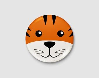 Animals - Tiger badge