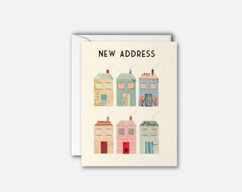 Houses New Address pk of 5 cards by James Ellis