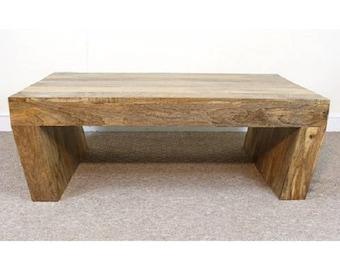 Mantis Angled Coffee Table mango wood