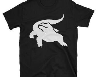Metal Gear Online Revival MGO MGO2R Komodo Dragon Emblem Animal Rank Unisex T-shirt