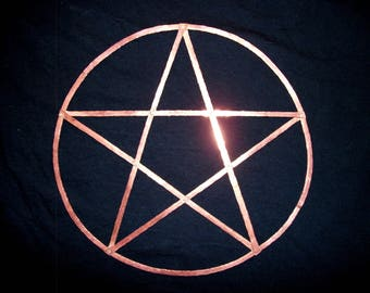 Riveted Copper Pentacle