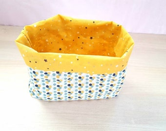 Reversible basket (yellow)
