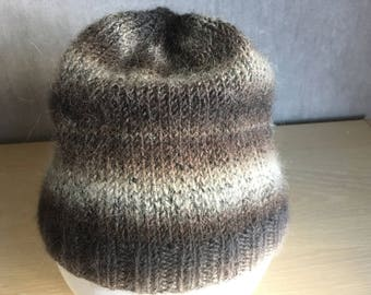 Child hat in Alpaca with shades