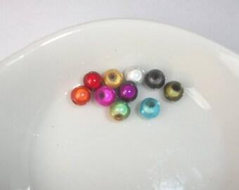 Magic miracle 6 mm mixed color bead