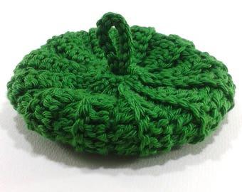 Cotton Tawashi 9 cm green grass