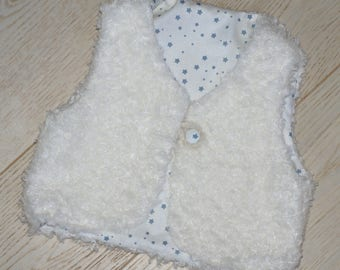 Star Shepherd baby, fur, lined with cotton vest