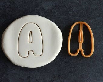 Letter Alphabet cookie cutter