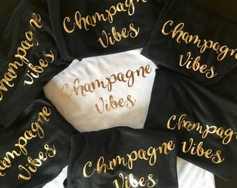 Champagne Vibes Tank Tops