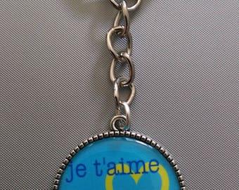Keychain I love you Grandpa