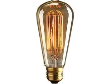 Vintage Edison light bulb - E27 40W