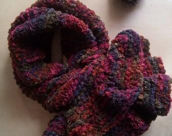crochet scarf women s chenille velvet ruffle short neck warmer in soft colors