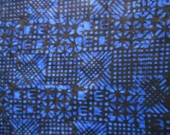 FABRIC INDIGO dyed hands 60 cm x 150 cm