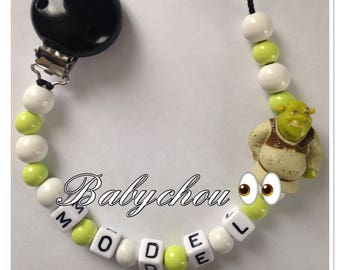 Sweet name shrek with wooden beads