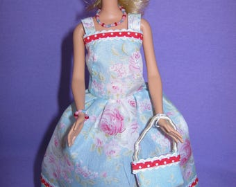 Small short dress in liberty fabric (B203)