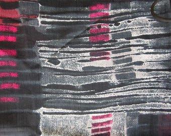 Chiffon polyester 100 cm x 140cm ref coupon: 297