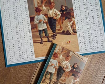 Old book + multiplication Table