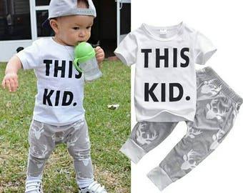 This kid clothing set