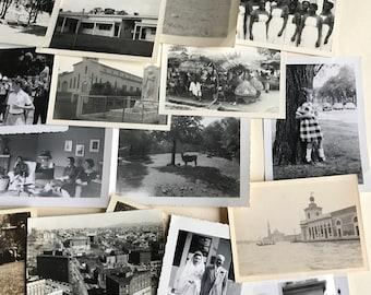 100 vintage photos, black and white, photos, vintage photos, paper ephemera