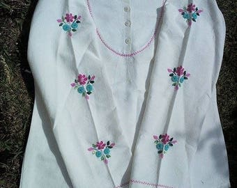 New! Cotton lined shirt by hand