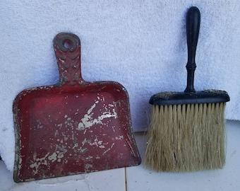 Miniature Dustpan and Broom