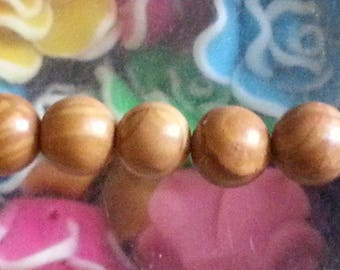 5 beads of Jasper 8mm diameter, hole 1 mm