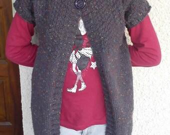 vest long girl