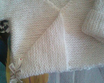 "lovely bra theme ""message""woolen ""white as snow"" Ribbon"