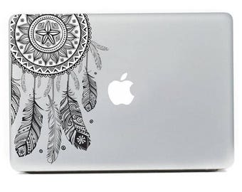 Feather Pattern Vinyl Decal Sticker For Macbook Air Pro 11/12/13/15 Inch Laptop