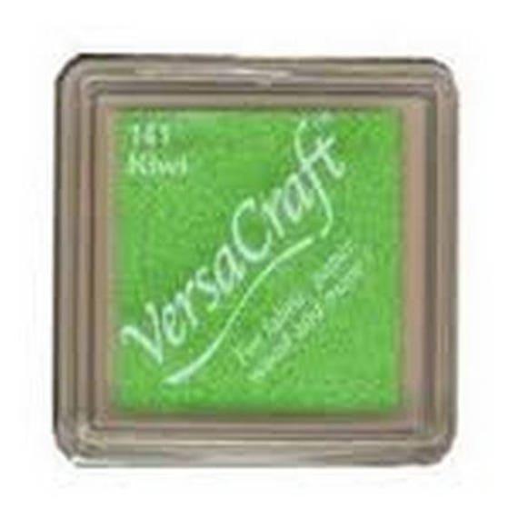 Kiwi VERSACRAFT ink - green - fabric and wood