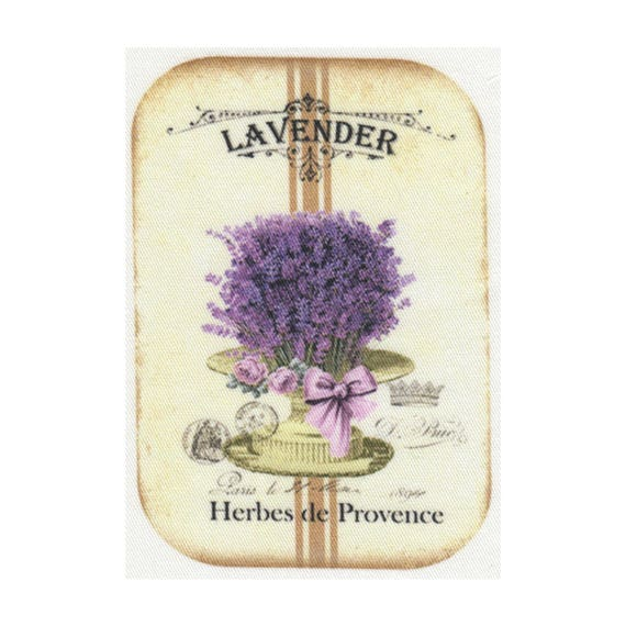 "Applied fusible - Collection ""Lavender"" AT403-5"