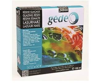 Resin glaze 150 ml - Pebeo Gedeo - Ref 766170 Kit