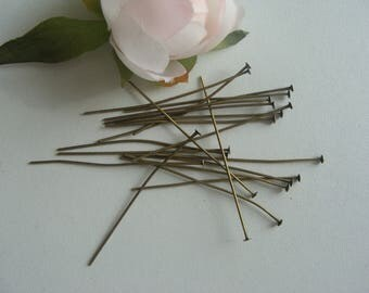 1 package includes 20 nails head flat 5cm length