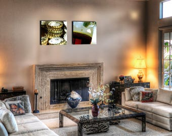 Decorative wall canvas Duo beer 55 x 55