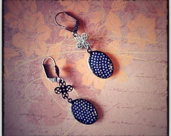 Earrings retro twilight