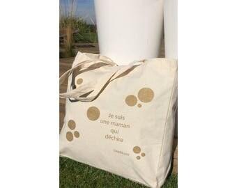 Cotton tote bag XL