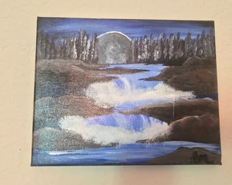 Moon Waterfalls