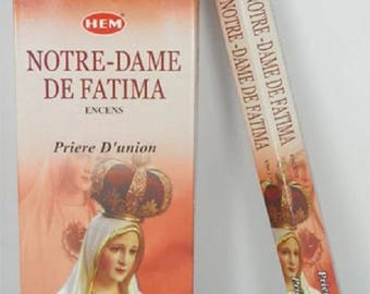 Box of our Lady of Fatima incense 20 sticks